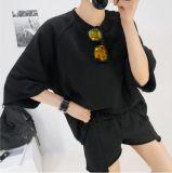 Костюмы Hoodies изготовленный на заказ износа спортов напольного Short-Sleeved для женщин