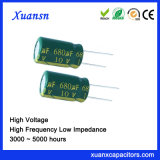De nieuwe 10V Elektrolytische Condensator van de Impedantie van het Lage Voltage van 680UF Lage