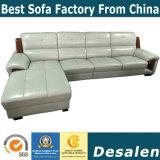 Hot Precio al por mayor Venta de muebles de oficina me forma sofá de cuero (A67)