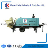 Reboque Diesel máquina de bombeamento concreta montada Hbt40d