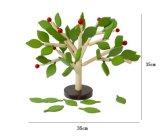 Hölzerne DIY Fertigkeit zusammengebaute Baum-Blatt-Gebäude-Hackklotz-Kind-pädagogische Spielwaren
