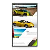 Venta caliente 43''monitor táctil capacitiva del sistema Android de la Junta de 4K