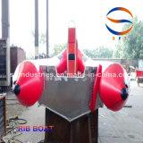 PVC/Hypalon/FRP Rippen-aufblasbare Boote hergestellt in China