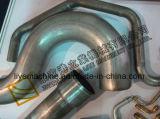 Macchina piegatubi del tubo manuale semiautomatico di Dw168nc per il tubo quadrato