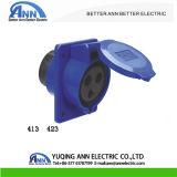 Soquete do painel de Montagem Industrial 2P+E IP44 220-240 V 16A 3p 413 423 Venda Quente