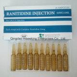 Injeção 50mg/2ml do Ranitidine do preço PBF da batida