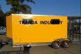 Entspannende Straßen-Hotdog-Karre Australien-Standard Food Van Food Car