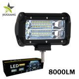 72W camion all'ingrosso LED che funziona barra chiara, barra chiara del camion LED di 4X4 SUV con l'indicatore luminoso del punto