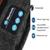 De zachte Warme Nieuwe Spreker Mic van de Hoofdtelefoon van Bluetooth Slimme GLB van de Hoed van Beanie van de Muziek Draadloze
