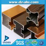 Porte en aluminium de guichet des Maldives de profil de fabrication d'usine