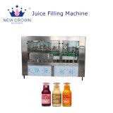 プラスチックびんのためのジュースの充填機