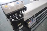 Impressora larga ao ar livre do solvente de Eco da bandeira do cabo flexível do vinil do formato