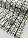 Tessuto tinto pronto 100% del filo di cotone del tessuto con l'assegno Pattern-Lz7128