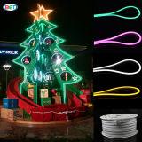 AC220V SMD2835 Weihnachtsdekoration des Seil-Licht-LED Neondes flex50m/roll
