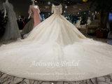 Aoliweiyaの夜会服の結婚式の服を着せ半分の袖のビードのキャミソール