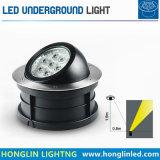 Illuminazione sotterranea registrabile di 7W LED RGB LED