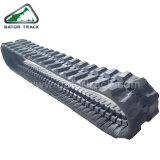 300x52.5x78 pistas de la excavadora sobre orugas de goma las orugas de caucho