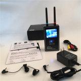Scanner Full-Range della radio dell'unità della Anti-Spia dell'alto di sensibilità della macchina fotografica del cacciatore della fascia del video scanner di immagine della visualizzazione multi di macchina fotografica rivelatore senza fili pieno dell'obiettivo