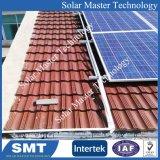 Techo de metal de tono Solar Los soportes de montaje de acero galvanizado