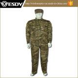 A ACU Multicam Camouflage prensa para combater a caça Suit Wargame Paintball