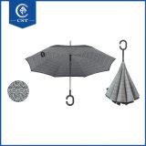 [توب قوليتي] صنع وفقا لطلب الزّبون علامة تجاريّة طبع داخلا 23 بوصة [رفرسبل/] يعكس مظلة
