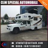 Vehículo móvil de la sala de tribunal, caravana, coche que viaja, vehículo recreacional