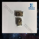 5 Mini USB tipo pino B do conector macho A450503
