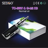 Modèle moderne Seego TV-50W+G-Hit K3 Vape Mods&#160 ; avec le dispositif de fumage