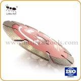 134mm segmentado sinterizado de hoja de sierra de diamante para granito