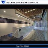 Scrittorio di ricezione moderno dell'ufficio dell'acrilico LED di nuovo disegno di alta qualità