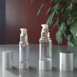 装飾的な包装のための空気のないポンプびんとしてCustomerizedの品質15ml 30ml 50mlアルミニウムおよび
