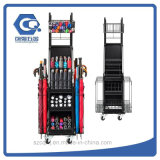 Пол Easy-Assemblely металлический зонтик дисплей для установки в стойку с колеса