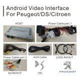 Rectángulo androide de la navegación del GPS para el interfaz del vídeo de Peugeot 308 Mrn Smeg+