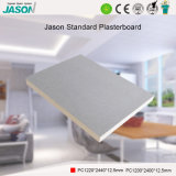 Cartón yeso estándar de Jason para el edificio Material-12.5mm