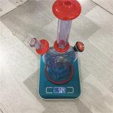 tubulação de fumo de vidro da plataforma petrolífera do reciclador da tubulação de água 11.5inch vermelha