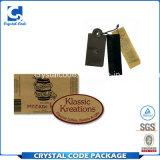 Le carton personnalisé d'impression étiquette des collants