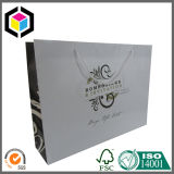 Saco de compra feito sob encomenda lustroso luxuoso da promoção do papel da cópia de cor