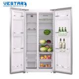 Congelador side-by-side do refrigerador do PCM Bcd-612W com a certificação do Ce feita em China