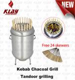 BBQ Grill Kebab le charbon de bois four de cuisson