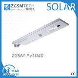 Уличный свет 40W индукции микроволны интегрированный солнечный