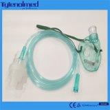 噴霧器の瓶が付いている医学等級PVCエーロゾルマスク
