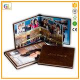 Impresión de encargo del libro de Hardcover de la foto de colorante de la alta calidad