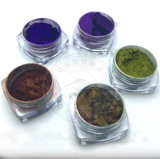 Polvo del camaleón, pigmento polaco cambiante del gel del color del cromo, espejo del polvo del clavo