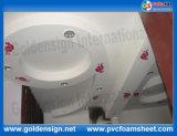 Blanc haute Celuka Feuille en PVC dur à Shanghai