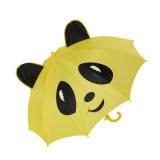 漫画の子供の自動昇進動物雨傘
