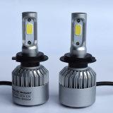 LED車のヘッドライトS2 H7の穂軸の単一のビーム自動LEDヘッドライト