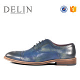 Уникальный дизайн натуральная кожа шнуровке мужчин платья обувь