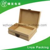 Feito na caixa de empacotamento chapeada da jóia do metal de China prata por atacado para o presente de casamento