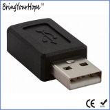 USB小型USBの女性アダプターへの男性