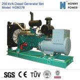 250kVA de diesel Reeks van de Generator met Googol Motor 50Hz